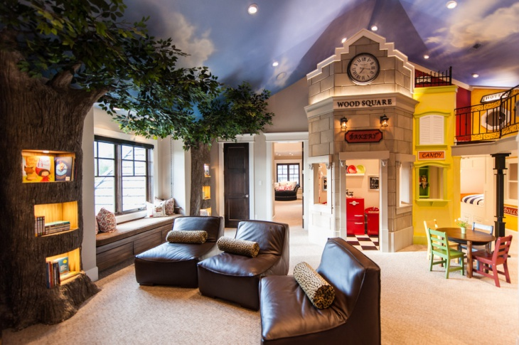 Check out this article and get 10 amazing game room ideas and more. 20+ Kids Game Room Designs, Ideas | Design Trends ...