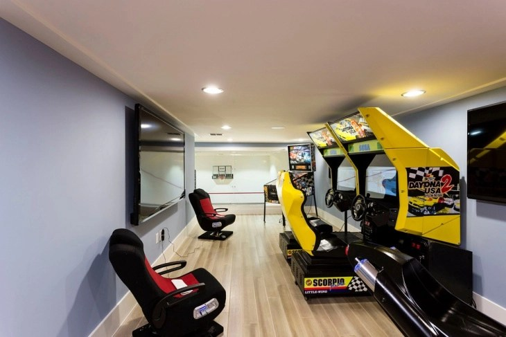 Fun group games for kids and adults are a great way to bring. 20+ Kids Game Room Designs, Ideas | Design Trends ...