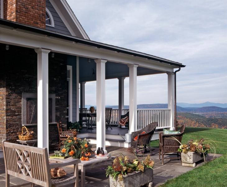 17+ Back Porch Designs, Ideas | Design Trends - Premium ... on Covered Back Deck Designs id=21049
