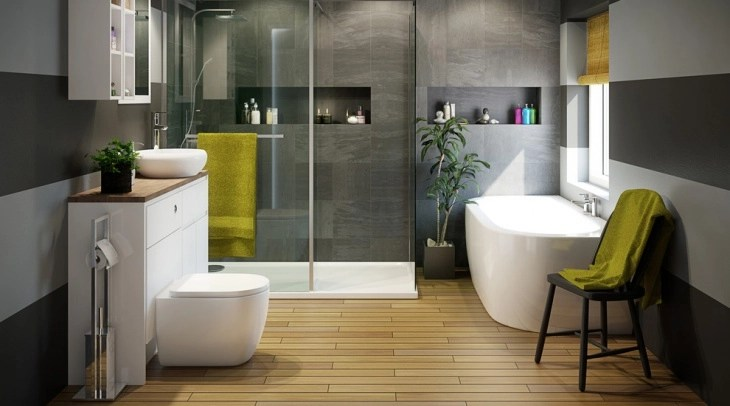 18+ 3 Piece Bathroom Designs, Ideas