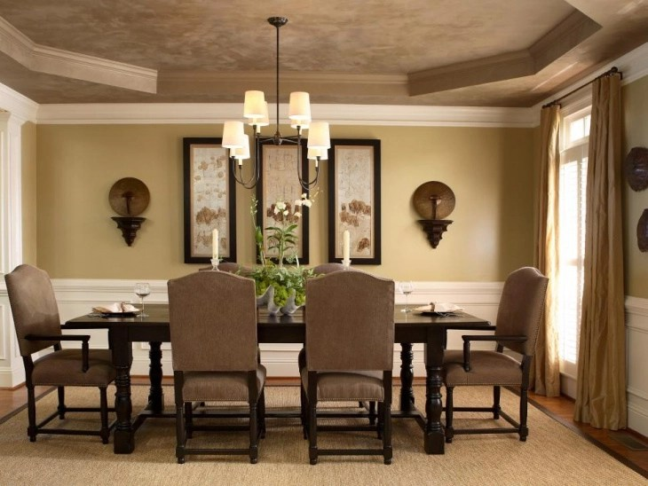 18+ Dining Room Ceiling Light Designs, Ideas | Design ... on Dining Table Ceiling Design  id=74477