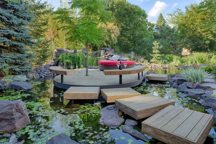 20+ Floating Deck Designs, Ideas | Design Trends - Premium ... on Floating Patio Ideas id=12676
