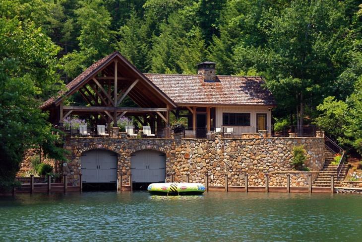 18+ Boat House Designs, Ideas