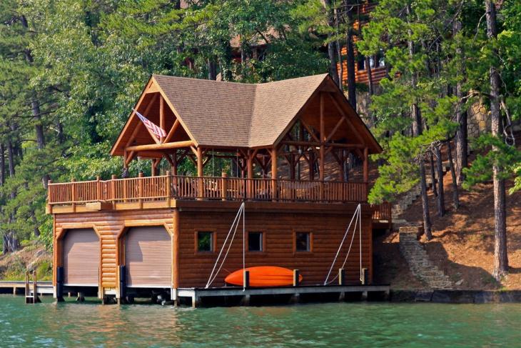 Houses Burton Lake Lake