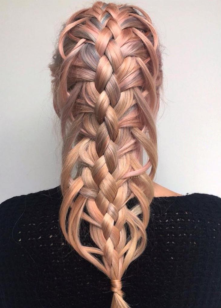 21 Loop Braid Hairstyle Ideas Designs Design Trends