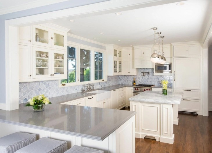 20+ French Country Kitchen Cabinet Designs, Ideas