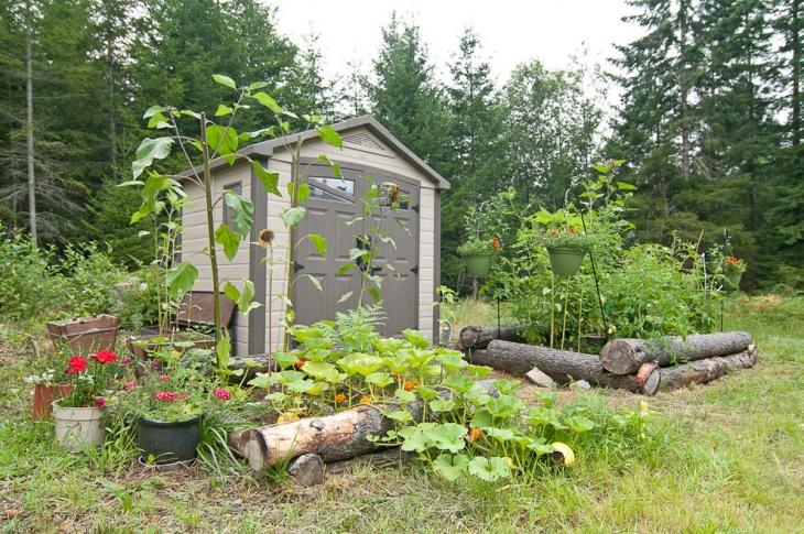 20+ Rustic Garden Designs, Ideas   Design Trends - Premium ... on Rustic Backyard Ideas id=65949