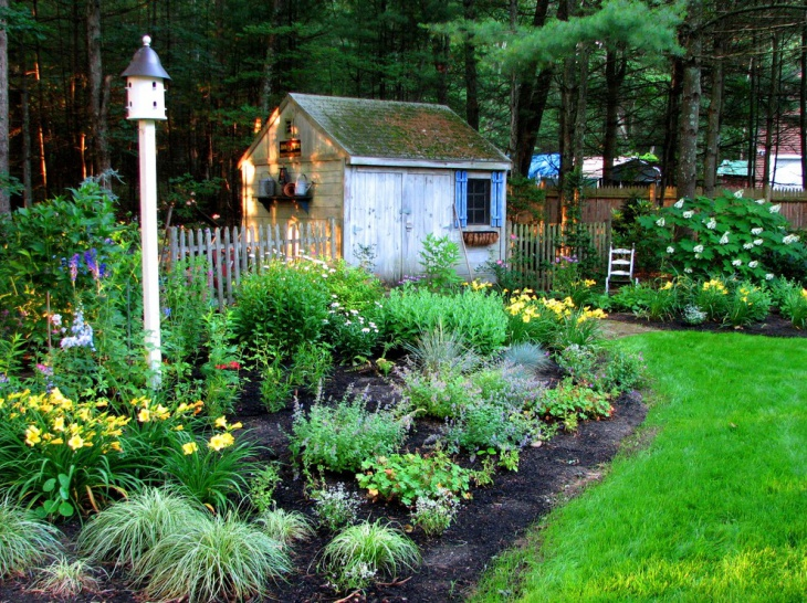 20+ Rustic Garden Designs, Ideas   Design Trends - Premium ... on Rustic Backyard Ideas id=64345