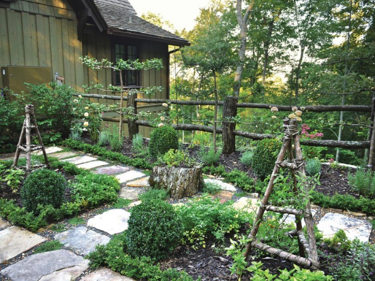 20+ Rustic Garden Designs, Ideas   Design Trends - Premium ... on Rustic Backyard Ideas id=87086