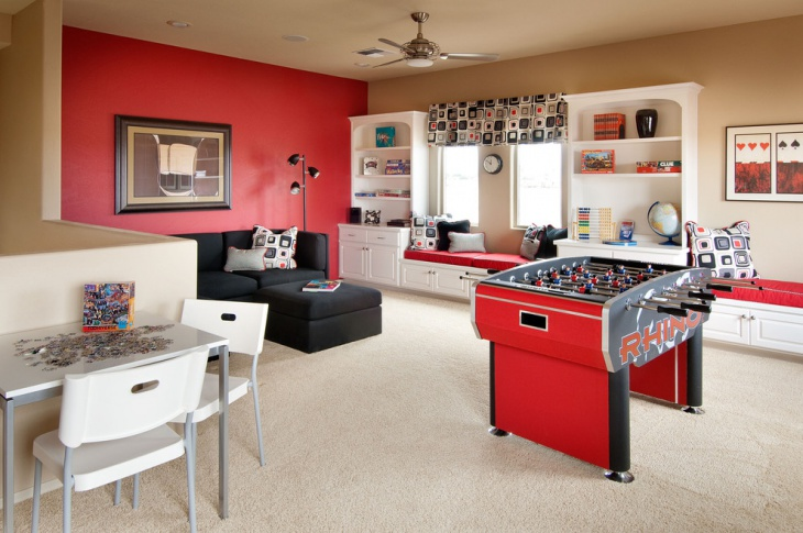Are you looking for some amazing game room ideas? 20+ Basement Game Room Designs, Ideas | Design Trends ...