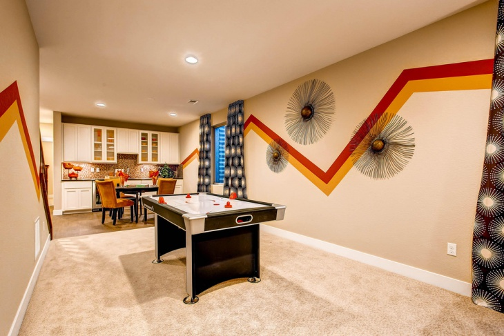 Follow these 10 easy steps for the perfect finis. 20+ Basement Game Room Designs, Ideas   Design Trends ...