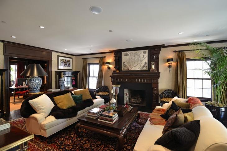 17 Dark Living Room Designs Ideas Design Trends