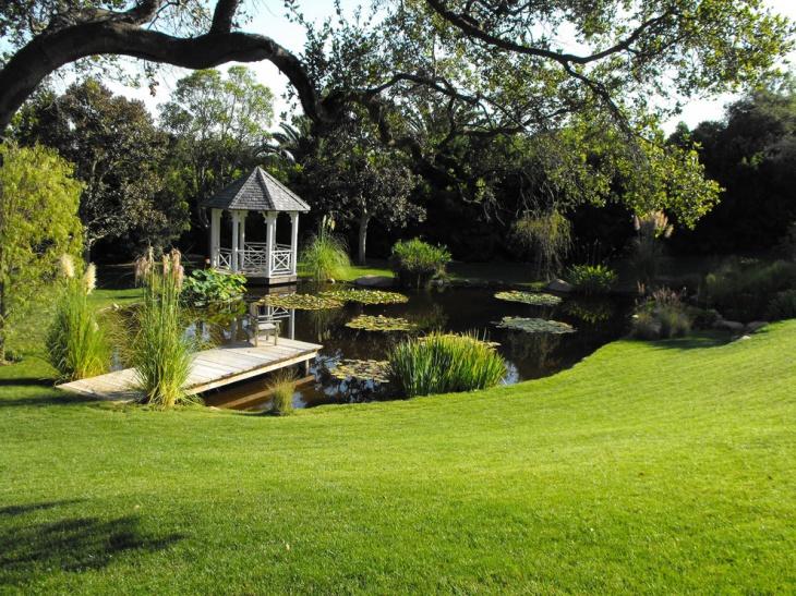 18+ Garden Pond Designs, Ideas | Design Trends - Premium ... on Backyard Pond Landscaping Ideas id=89875