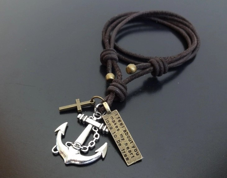 18+ Anchor Pendant Jewelry Designs, Ideas | Design Trends ...