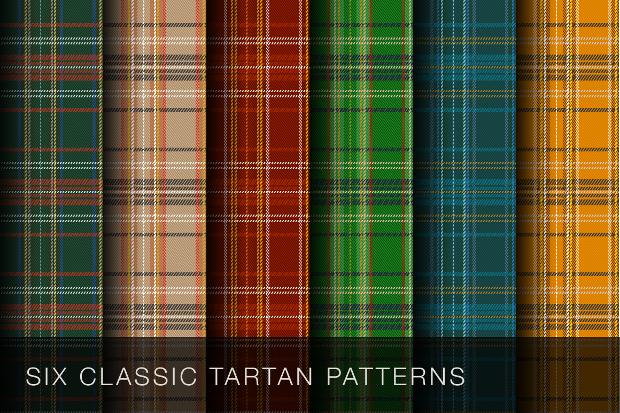 20 Tartan Patterns Free PSD PNG Vector EPS Format
