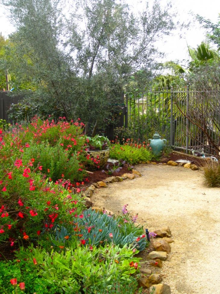 18+ Mediterranean Garden Designs, Ideas | Design Trends ... on Small Mediterranean Patio Ideas id=11387