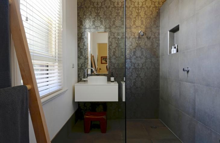17+ Floral Bathroom Tile Designs, Ideas | Design Trends ... on Floral Tile Bathroom Ideas  id=81053