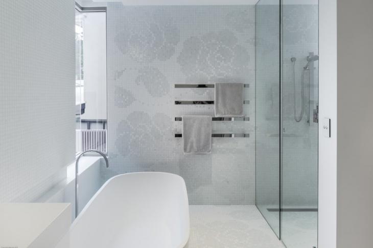 17+ Floral Bathroom Tile Designs, Ideas | Design Trends ... on Floral Tile Bathroom Ideas  id=55177