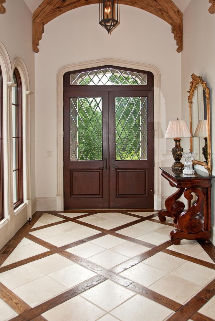 20 entryway flooring designs ideas