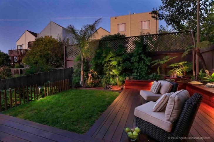 18+ Platform Deck Designs, Ideas   Design Trends - Premium ... on Backyard Deck Designs id=60025