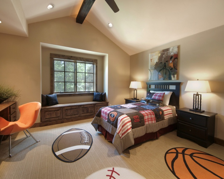 17 sports bedroom designs ideas