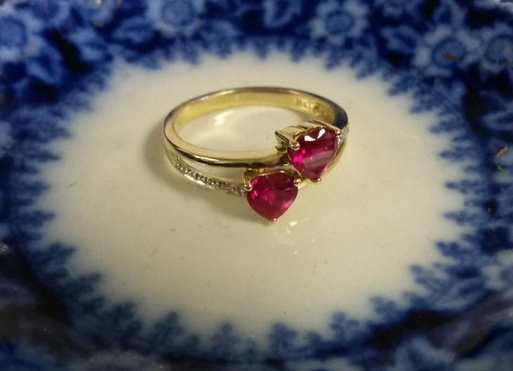 17 Ruby Heart Ring Designs Trends Models Design