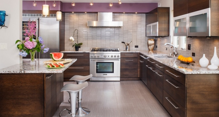 18 Basement Kitchen Designs Ideas Design Trends Premium Psd | Kitchen With Stairs To Basement | Next | Mid Century | Living Room | Narrow | Ranch