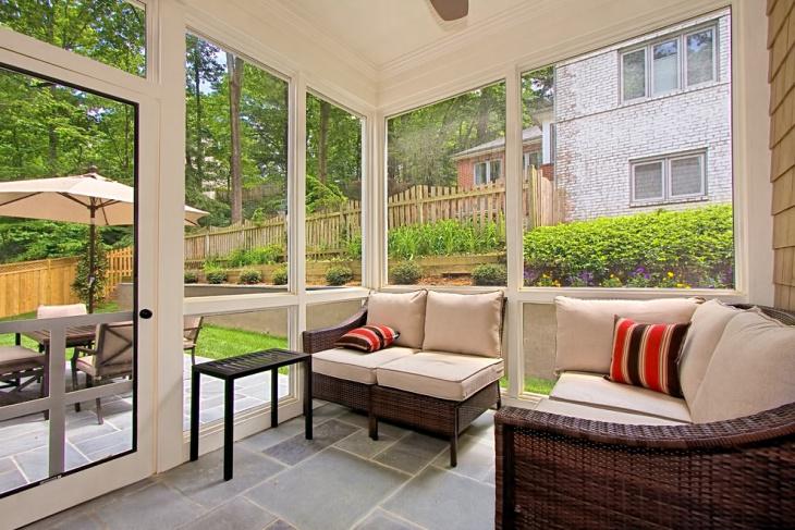 18+ Patio Flooring Designs, Ideas | Design Trends ... on Inclosed Patio Ideas  id=43589