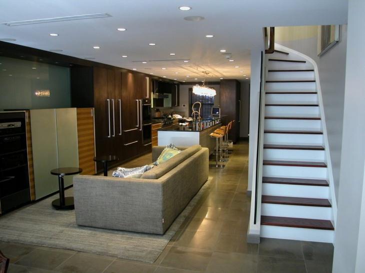 17+ Basement Flooring Designs, Ideas
