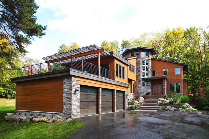 16+ Rooftop Deck Designs, Ideas | Design Trends - Premium ... on Deck Over Patio Ideas id=39287