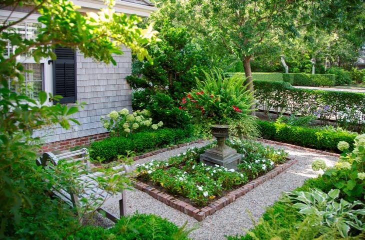 16+ Square Garden Designs, Ideas | Design Trends - Premium ... on Square Patio Designs id=64705