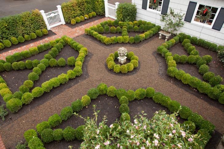 16+ Square Garden Designs, Ideas | Design Trends - Premium ... on Square Patio Designs id=86700