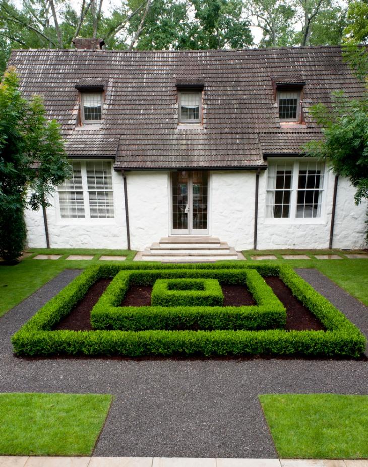 16+ Square Garden Designs, Ideas | Design Trends - Premium ... on Square Patio Designs id=94712