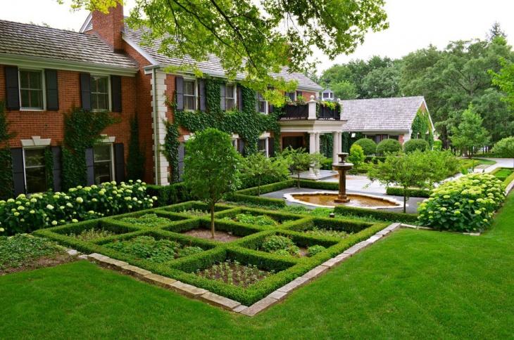 16+ Square Garden Designs, Ideas | Design Trends - Premium ... on Square Patio Designs id=83528