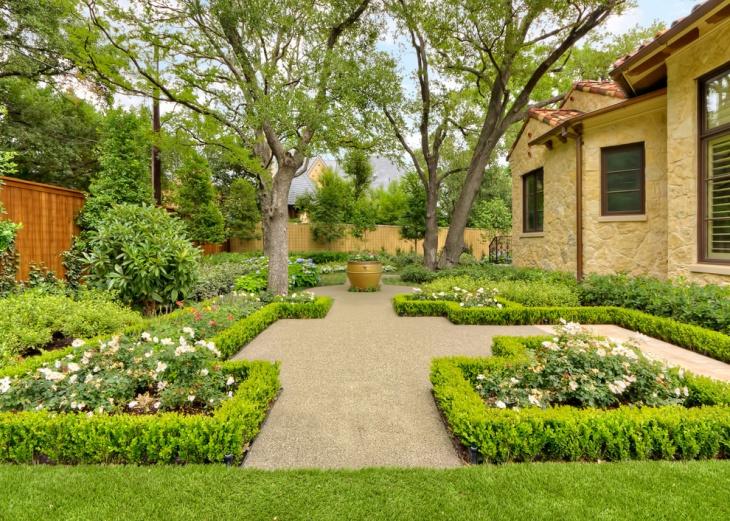16+ Square Garden Designs, Ideas | Design Trends - Premium ... on Square Patio Designs id=97442