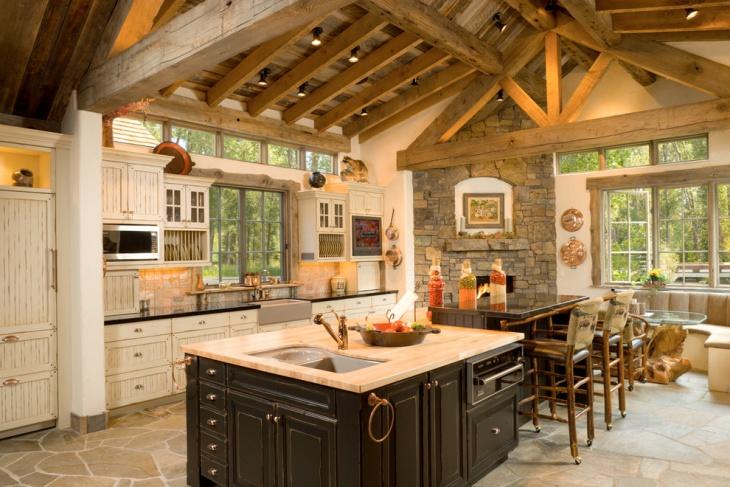 60+ Kitchen Designs, Ideas | Design Trends - Premium PSD ... on Rustic Traditional Decor  id=35598