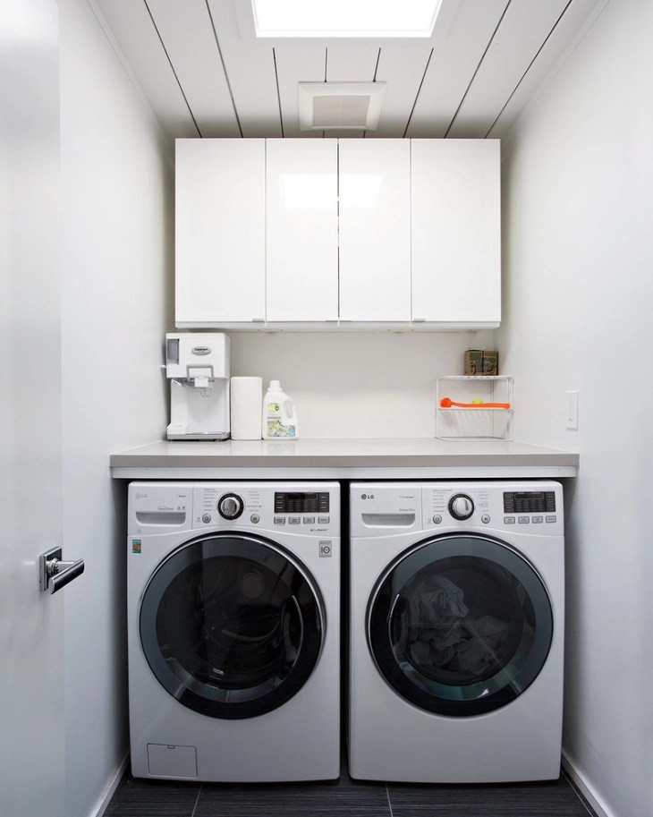 18+ Small Laundry Room Designs, Ideas   Design Trends ... on Small Laundry Room Cabinets  id=47145