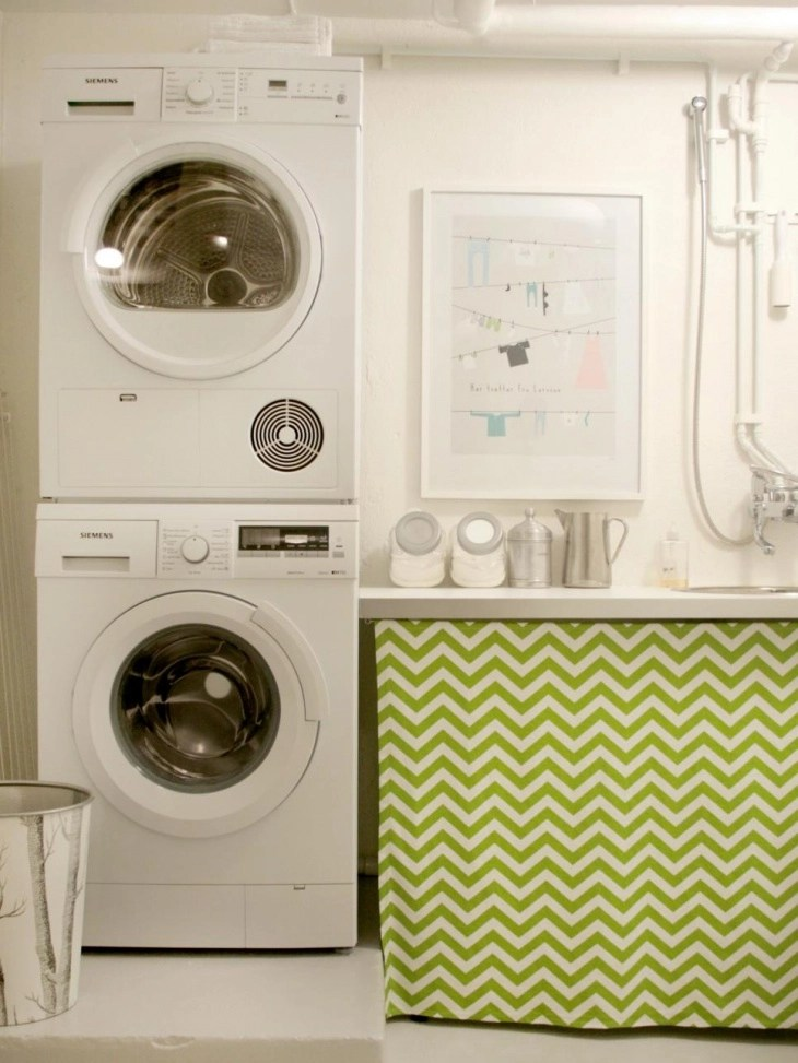 18+ Small Laundry Room Designs, Ideas | Design Trends ... on Laundry Decorating Ideas  id=96999