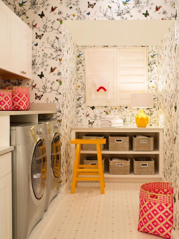 18+ Small Laundry Room Designs, Ideas | Design Trends ... on Laundry Decoration  id=18996
