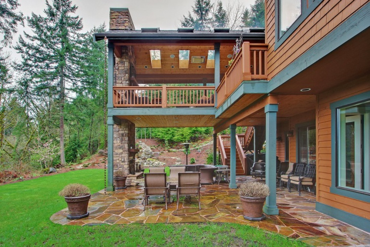 17+ Covered Deck Designs, Ideas | Design Trends - Premium ... on Covered Back Deck Designs id=98336