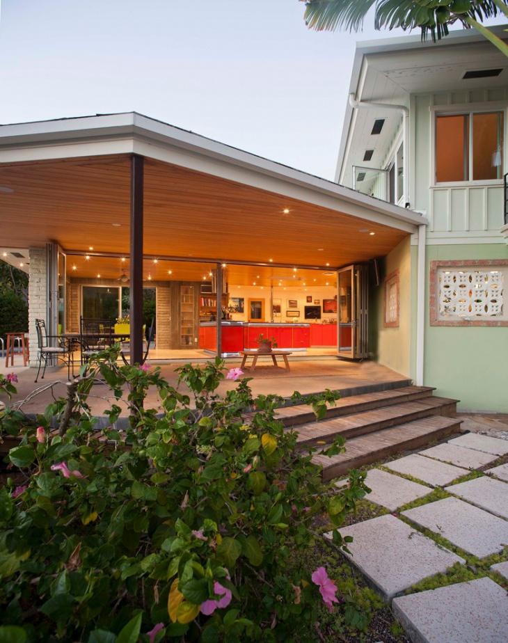 17+ Covered Deck Designs, Ideas | Design Trends - Premium ... on Raised Patio Designs  id=61836