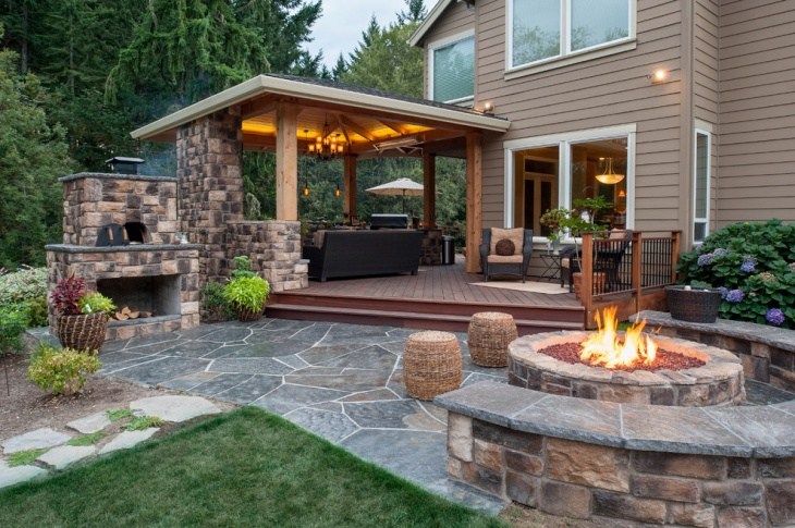 17+ Covered Deck Designs, Ideas | Design Trends - Premium ... on Covered Back Deck Designs id=74584