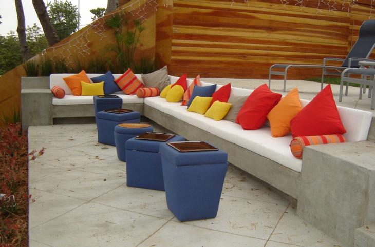 40+ Patio Furniture Designs, Ideas | Design Trends ... on L Shaped Patio Ideas id=30114
