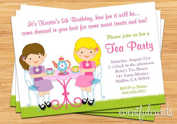 Toddler Birthday Party Invitations