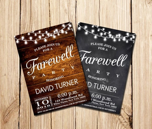 30 Party Invitations Printable PSD AI Vector EPS