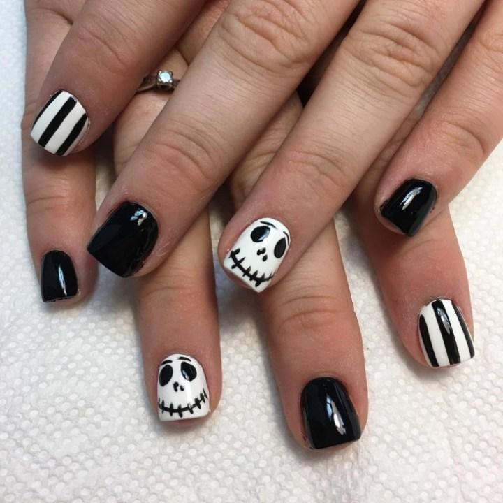 Fun Halloween Nail Design Michaelieclark