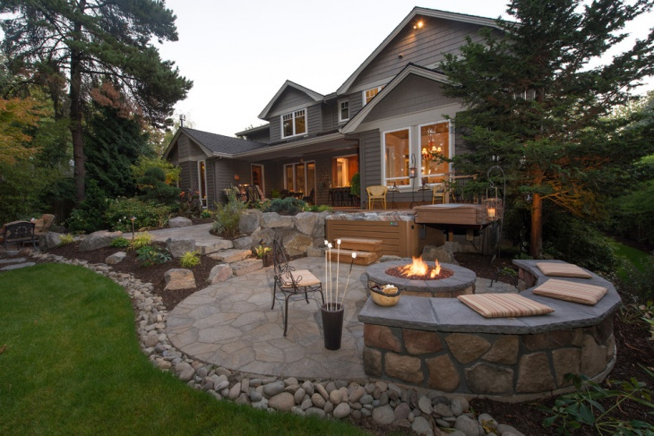 60+ Patio Designs, Ideas | Design Trends - Premium PSD ... on Rock Patio Designs  id=71959