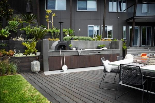 outdoor patio kitchen design idea 19+ Modern Outdoor Kitchen Designs, Ideas   Design Trends