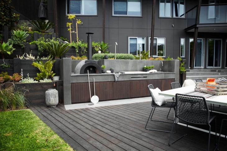 19 Modern Outdoor Kitchen Designs Ideas Design Trends