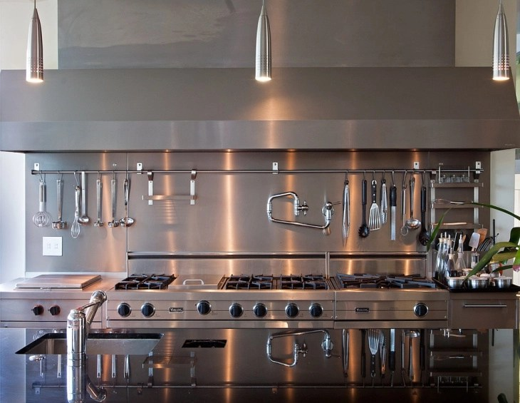 Layout Small Commercial Kitchen Design Novocom Top
